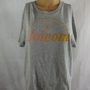 NWT VOLCOM T Shirt - Gray - Sz LARGE